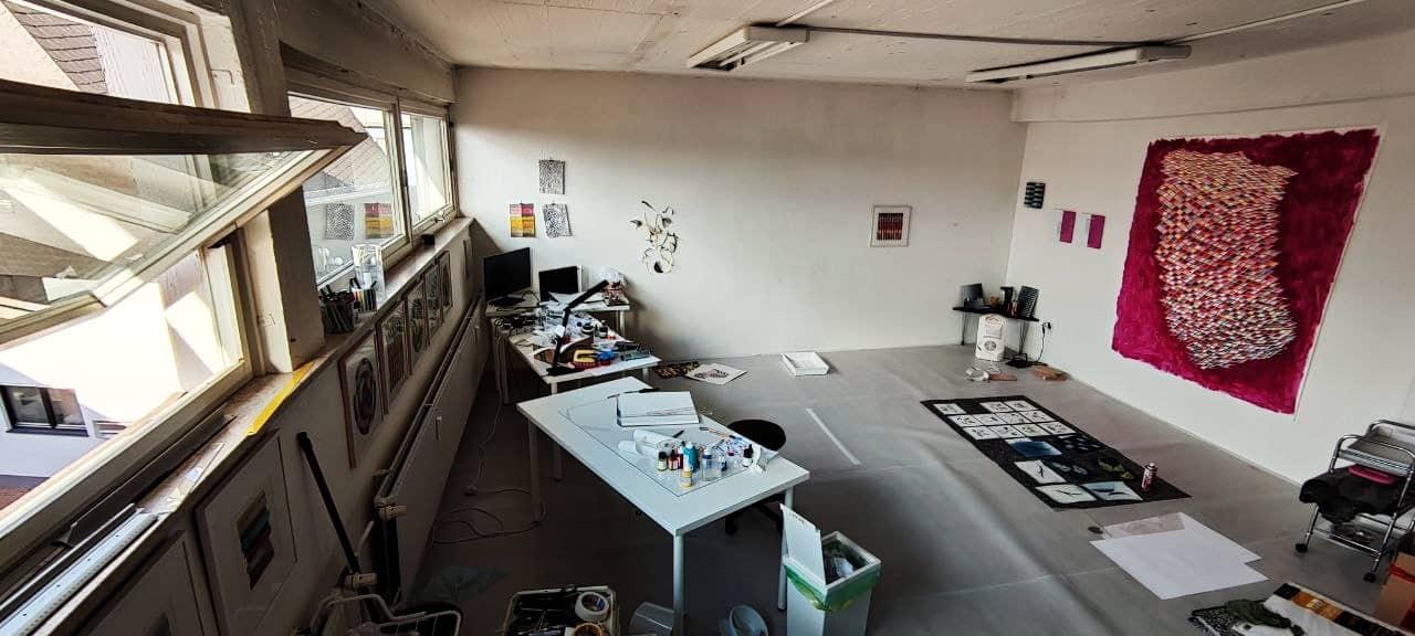 Ansicht eines Atelierraums im Raumwerk